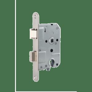 Cilinder deurslot 1269/17-50mm rvs d+n (toepasbaar voor links en rechts)
