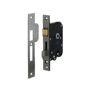 Veiligheidsslot Nemef 4109/27-50 PC55 RVS afgerond