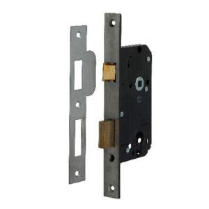 Cilinder deurslot rs  Nemef 4139/17-50MM rvs **