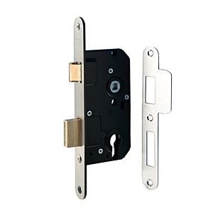 Cilinder deurslot rs Nemef 4139/27-50MM rvs **
